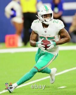 Howard A Dédicacé Signé Xavien Jeu Crampons Utilisé NFL Miami Dolphins Psa + Loa