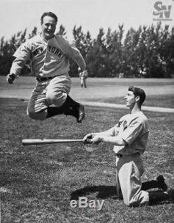 Incroyable Joe Dimaggio, 1939, Époque Du Jeu Recrue, Jeu Signé: Bat Bat Psa Dna + Jsa Coa