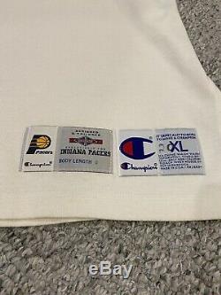 Indiana Pacers Jeu Chaud Epuisees Warm-up Signé Par Reggie Miller