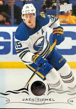Jack Eichel Jeu Anciens Et D'occasion Bâton Autographié Coa NHL Enchères Buffalo Sabres