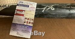 Jarred Kelenic Autographié Jeu Utilisé Bat, Jsa / Signature Debut Coa