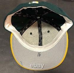 Jason Giambi Jeu D'occasion Signé Oakland Athletics Hat Athletics Inscrit Mvp # 16 Mint Auto