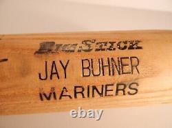 Jay Buhner Jeu Bat Anciens Et D'occasion Bone Seattle Mariners Great Keep Swingin