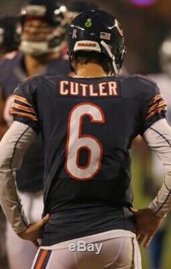 Jay Cutler (bears) 2012 Jeu Signé Utilisé Worn Jersey
