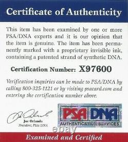Jeu De Daunte Culpepper Used Worn 2003 Minnesota Vikings Signed Jersey Certifié