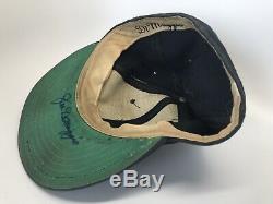 Joe Dimaggio Jeu Utilisé Autographié Hat