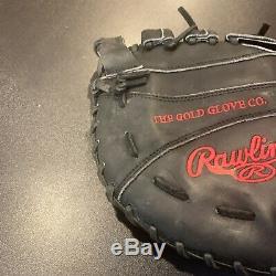 Joey Votto Cincinnati Reds Jeu Utilisé Fielding Glove 2015 Signé Psa Loa
