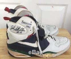 John Stockton, Équipe Olympique De Rêve, Jeux Olympiques Signés, Barcelone 1992, Chaussures Auto