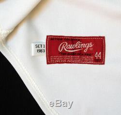 Johnny Bench 1983 Cincinnati Reds Signé Jeu Utilisé Jersey Psa Adn