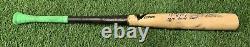 Jose Abreu Chicago White Sox Jeu Bat D'occasion 2015 Signé Jsa Utilisation Lourde Non Craqué