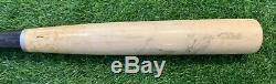 Jose Abreu Chicago White Sox Jeu Utilisé Bat 2015 Signé Psa Gu 10 Non Fissuré