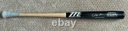Josh Donaldson 2016 Jeu Utilisé Uncracked Bat Autographe Signé Jays Indians Braves
