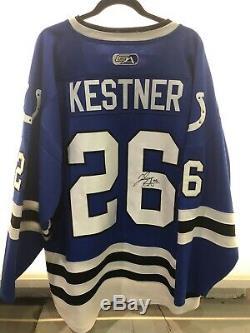 Josh Kestner Jeu Utilisé Et Signé # 26 Uah Hockey Jersey