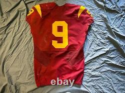 Juju Smith-schuster Signé Game-worn/used Usc Jersey Steelers