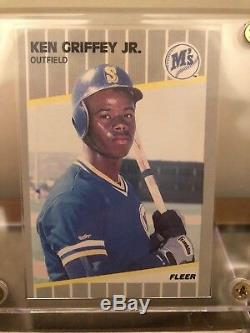 Ken Griffey Jr. Jeu De All-star 1994 Utilisé Baseball + Encadré