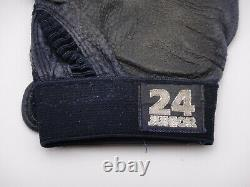 Ken Griffey Jr. Jeu Utilisé Nike Batting Gloves Signé Beckett Coa Autographié