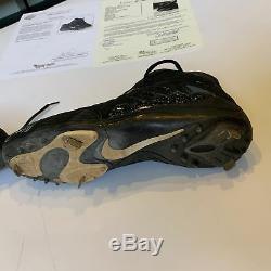 Ken Griffey Jr. Jeu Utilisé Paire Signée De Chaussures Nike Cleats Avec Jsa Coa