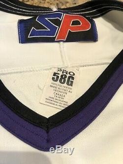 Ken Wregget 2001 Signé Jeu Utilisé Manitoba Moose Jersey Rare Coupe Stanley Champ