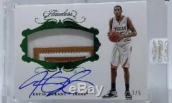 Kevin Durant Auto / 5 Flawless Collegiate Jeu Utilisé Autographed Jersey Patch Mint