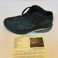 Kevin Garnett Signé Game 1990 D'occasion 1 Kg21 Sneaker Chaussures Avec Jsa Coa