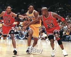 Kobe Bryant 1997-1998 Jeu Utilise Chaussures Signées Dédicacé Porté Lettre Gfc Jordan