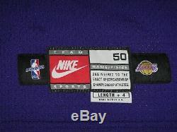 Kobe Bryant # 8 Jeu Signé D Occasion Worn 1998-99 Los Angeles Lakers Jersey Autograph