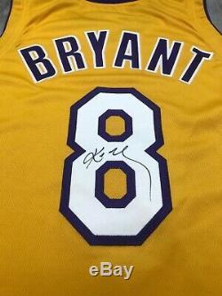 Kobe Bryant Nike 2000/01 Lakers Jeu Utilisé Worn Jersey Autosigné Pe 50 + 4 Etats-unis