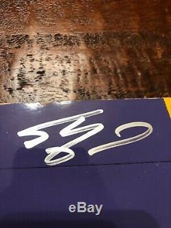 Kobe Bryant Shaquille O'neal Jeu Signé Staples Center Floor Utilisé Panini Coa
