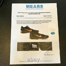 Kobe Bryant Signé 2010 Jeu Utilisé Sneakers Chaussures Psa Dna & Sports Investors Coa