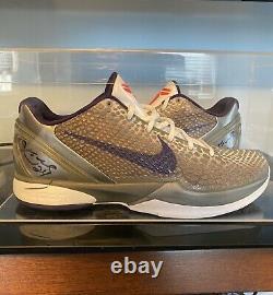 Kobe Bryant Signé Jeu Worn Used Shoes- Kobe 6 Chine (lire Description! Rare!)