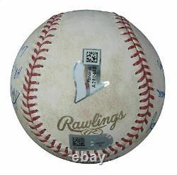 Kris Bryant Cubs De Chicago Signé 2016 World Series Game 6 Game Used Baseball Jsa
