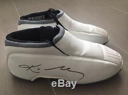Lakers 2002 Jeu Utilisé Worn Signé Kobe Bryant Pe Adidas Promo Chaussures Exemples