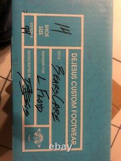 Leonard Floyd Jeu Utilisé Signé Cleats Chicago Bears Vs Dallas Autograph
