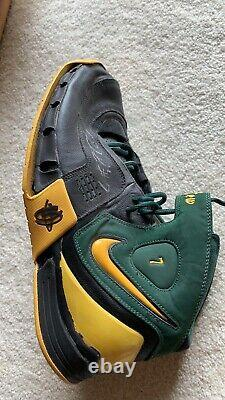 Lewis Rashard Sonics De Seattle Supersonics Jeu Utilisé Autographié Signés Chaussures