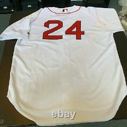 Manny Ramirez A Signé 2004 Boston Red Sox Jeu Utilisé Jersey Avec Psa Adn Coa