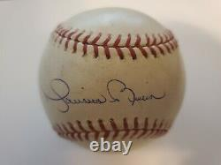 Mariano Rivera A Signé 2004 Alds Yankees Gm. 4 Jeu Utilisé Baseball Steiner Mlb