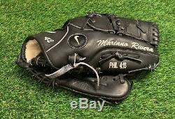 Mariano Rivera Des Yankees De New York Jeu Utilisé Fielding Glove 2010 Signé Steiner