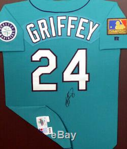 Mariners Ken Griffey Jr. Jeu Encadré Autographié Occasion Jersey 1994 Psa # Ab51454