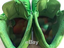 Marshawn Lynch A Signé Le Jeu Utilisé Chaussures Coa + Proof! Seahawks Porté Mode Bête