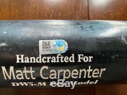 Matt Carpenter St Louis Cardinals Jeu Bat Marucci Anciens Et D'occasion Mlb