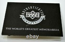 Michael Jordan 2000-2001 Ud Flight School Ultimate Game Used Patch Auto Bgs 9.5/10