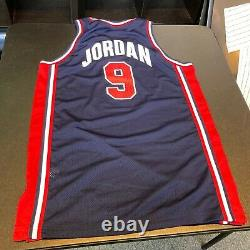 Michael Jordan A Signé Jeu Utilisé 1992 Team USA Dream Team Uniforme Jersey Jsa Coa