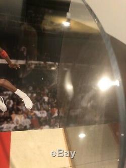 Michael Jordan Uda Jeu Utilisé Bulls Floor Auto Autographe 5/100