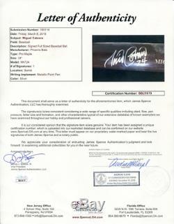 Miguel Cabrera Autographié Jeu Utilisé Phoenix Bat (jsa)
