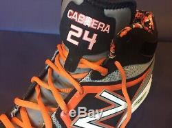 Miguel Cabrera Signé Taquet Inscribed Jeu 2012 D'occasion Tigers Auto Mlb Hologram