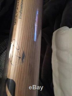 Mike Piazza Autographié Jeu Utilisé Cracked Mizzuno Bat Withcoa. Métastases Hall Of Famer