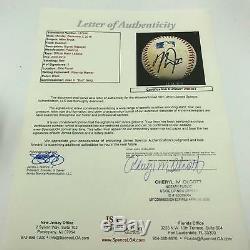 Mike Trout - Jeu Autographié Signé - Utilisation Officielle De La Ligue Majeure De Baseball Jsa Coa