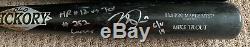 Mike Trout Jeu Utilisé 2019 Home Run # 12 Anges Autograph Bat Uncracked Signe