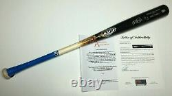 Mike Trout Signed Game Used Old Hickory Bat 19 G/u Mlb / Psa
