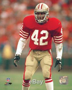Milieu Des Années 80 Ronnie Lott San Francisco 49ers Jeu Signe Reparations Jersey Withteam Utilisé